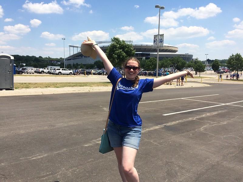 Kansas City Royals baseball, USA - the tea break project solo travel blog