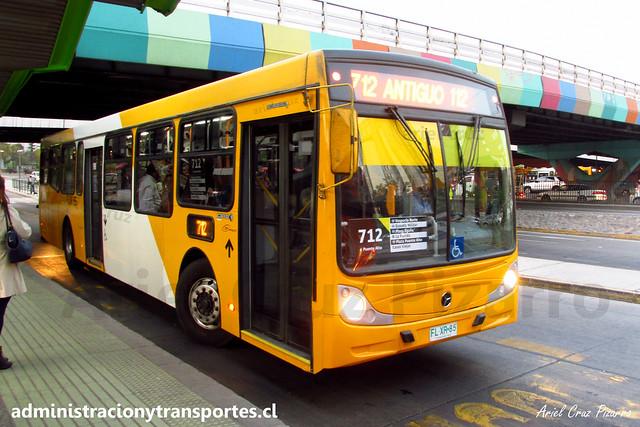 Transantiago 712 | STP Santiago | Caio Mondego H 13.2 - Mercedes Benz / FLXR85