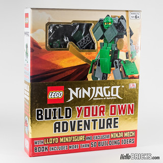 Review Livre LEGO Ninjago DK Build Your Own Adventure 01