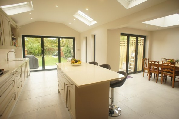 Image result for Kitchen Extension With Kitchen Island flickr