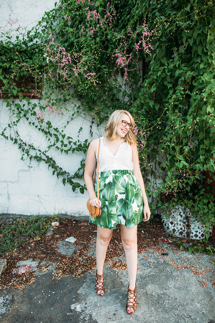 tropical leaf skirt11