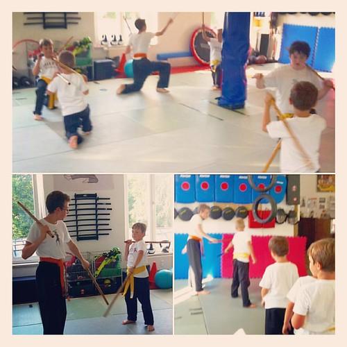 Impressionen Eskrima Kids  #roninz #eskrima