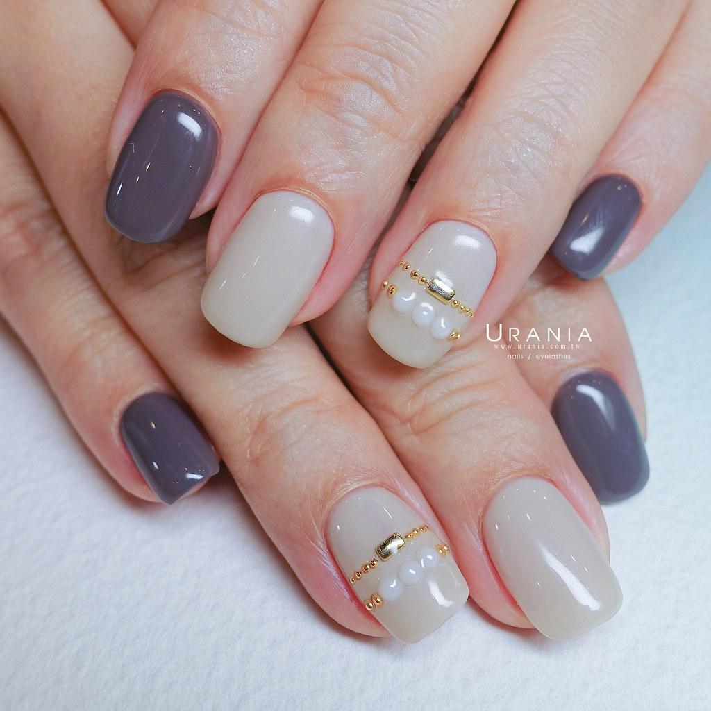 ♥ 微涼的早秋!凝膠指甲秋意濃 12
