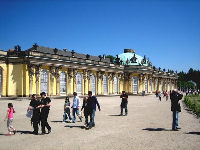 Palacio de Sanssouci de Postdam