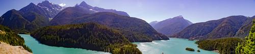 Diablo Lake Panorama