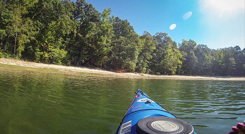 Paddling to Ghost Island in Lake Hartwell-102