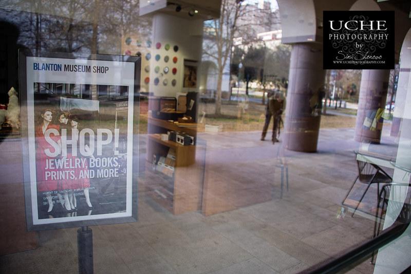 20140125.blanton museum shop photowalk reflected