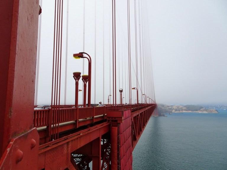Golden Gate Bridge, San Francisco, California, USA - the tea break project solo travel blog