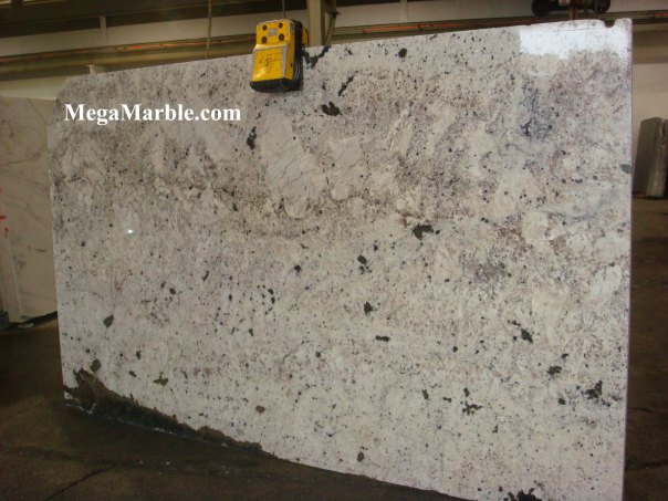 White Aran Granite Slab