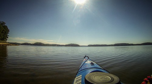 Paddling to Ghost Island in Lake Hartwell-99