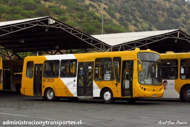 Transantiago F02 | STP Santiago | Metalpar Tronador - Mercedes Benz / MY2070