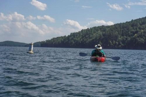 Lake Jocassee with Bennie Waddell-88