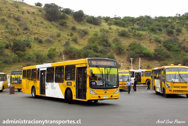 Transantiago F29 | STP Santiago | Caio Mondego H 13.2 - Mercedes Benz / FLXR84