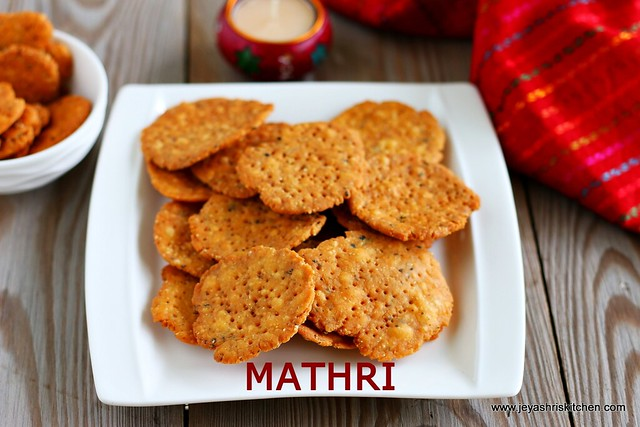 Mathri recipe