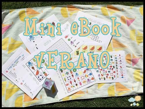 mini Ebook de juegos para niños Verano