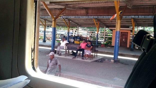 Small Sri Lankan Train Station