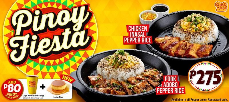 Pepper Lunch Pinoy Fiesta