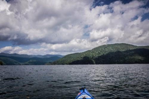 Lake Jocassee with Bennie Waddell-31