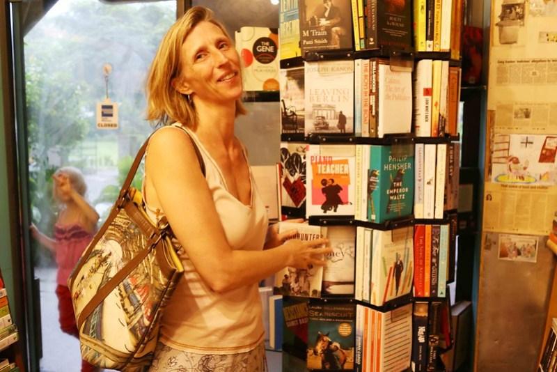 City Moment - South Asia Bureau Chief Ellen Barry's Money Secrets, The Book Shop, Jor Bagh Market