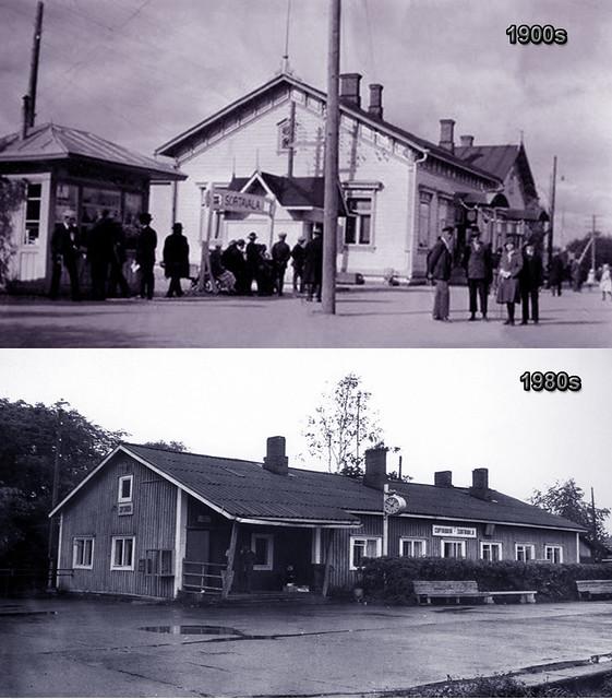 1900s вокзал при финнах - 1980е