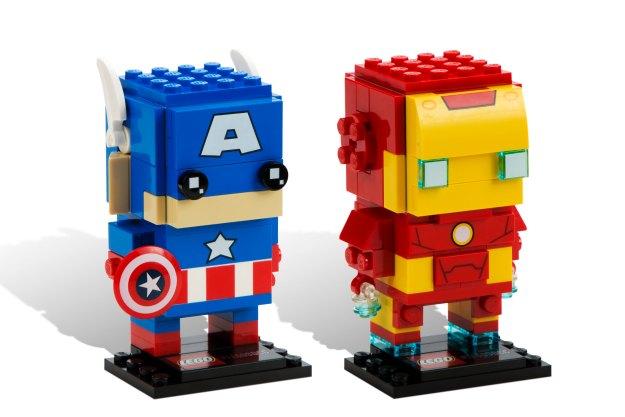 BrickHeadz: Captain American and Iron Man