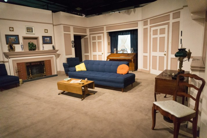 """""""I Love Lucy"""" Fans Will Recognize This Set at Desilu Studios in Lucille Ball's Hometown of Jamestown, N.Y., Aug. 6, 2016"""