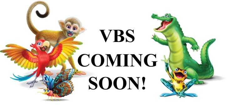 VBS coming soon 2021