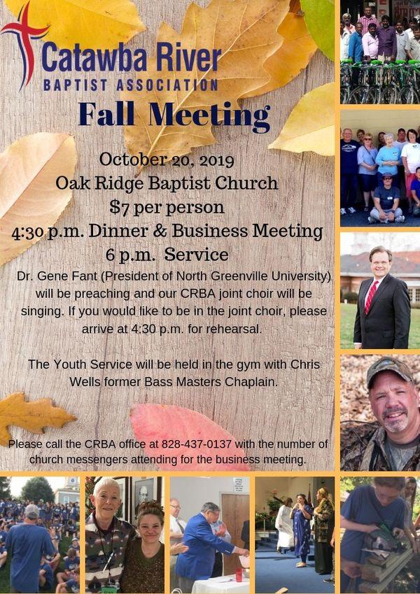 Fall Meeting Flyer 2019 2