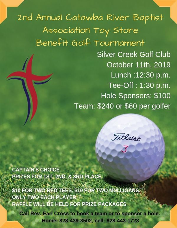 Toy Store Benefit Golf Tournament New date