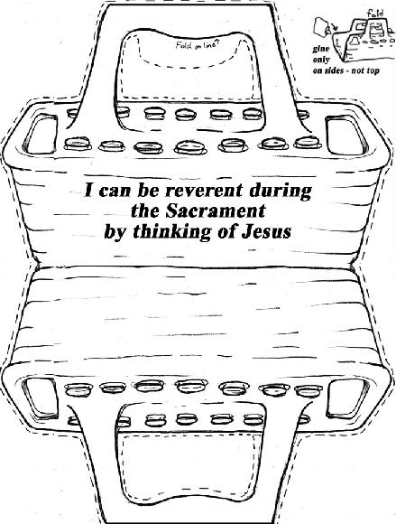 i can be reverent during the sacrament