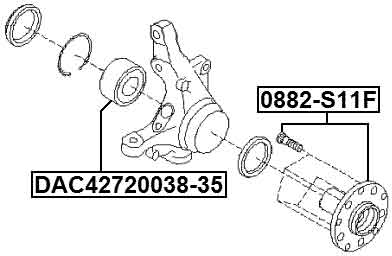 S11f Genuine Febest Front Wheel Hub Ae001 Ae000