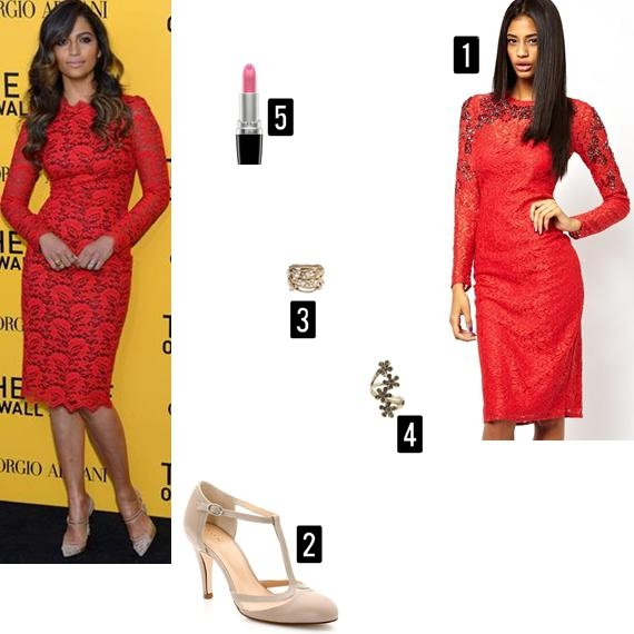 Recriação do look da Camila Alves