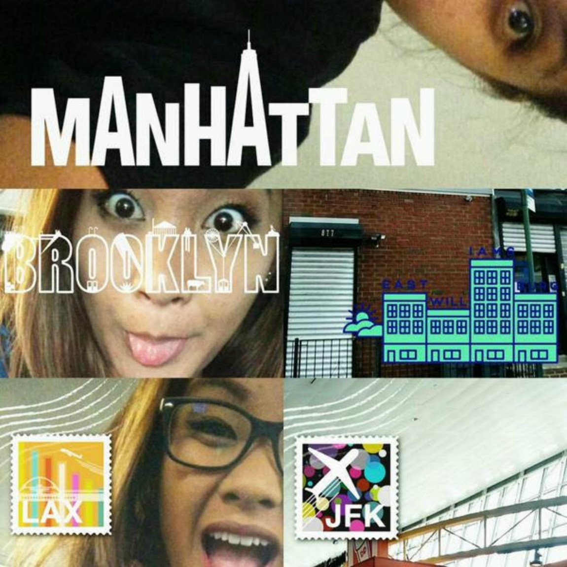 Snapchats in New York