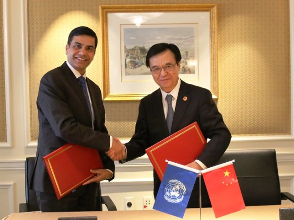 Support to vulnerable countries strengthened by new collaboration between UN-OHRLLS and the Ministry of Commerce of the People's Republic of China