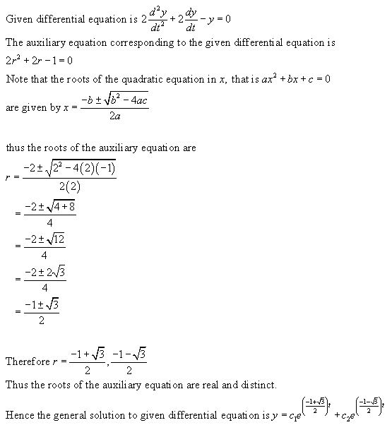 Stewart-Calculus-7e-Solutions-Chapter-17.1-Second-Order-Differential-Equations-11E