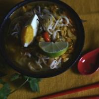 mohinga - burmese fish noodle soup