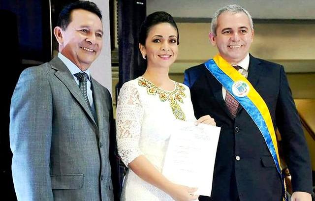 José Maria Tapajós, Josilene Pinto e Nélio Aguiar