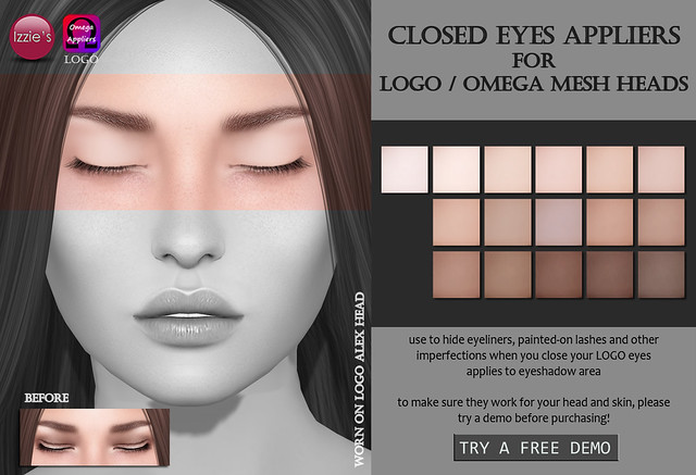 Closed Eyes Appliers (LOGO / Omega)