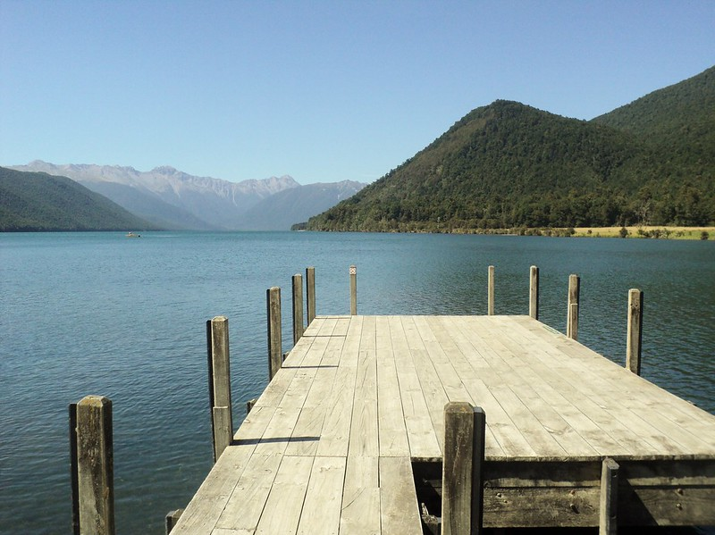 Lake Rotoroa, Nelson Lakes National Park, South Island, New Zealand - the tea break project solo female travel blog