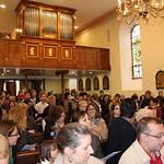 messe 22 avril avec les enfants et Monseigneur Kratz