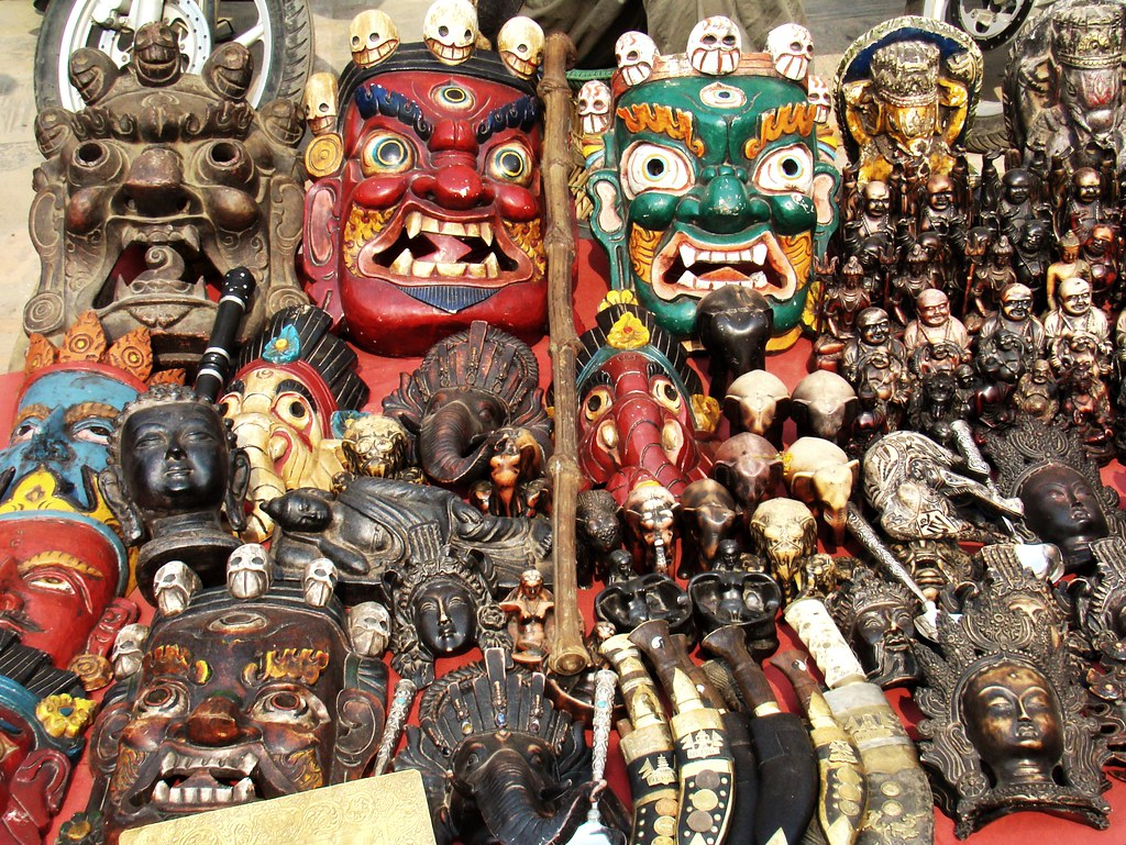 Nepal mascaras mitologicas 04