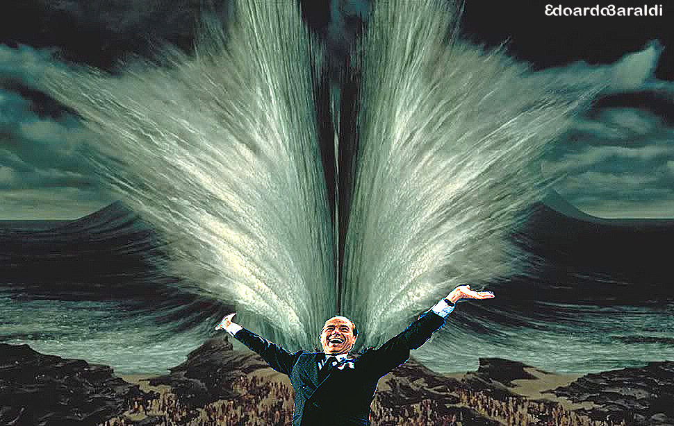 Berlusconi-Mosè divide le acque