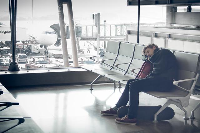 Como perder un vuelo / As missing a flight