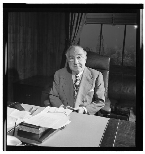 [Portrait of James Petrillo in his office, New York, N.Y., ca. Feb. 1947] (LOC)