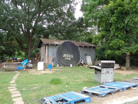 Jesus Love on Trampoline, Hwy 167 Arkansas/Louisiana