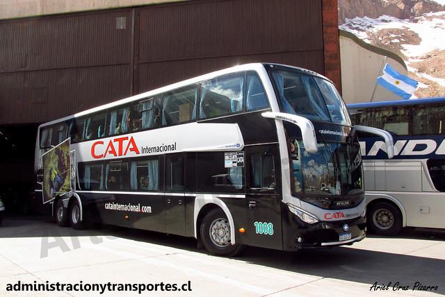 Cata Internacional | Paso Los Libertadores | Metalsur Starbus 3 - Volvo / AA183ZF - N° 1008