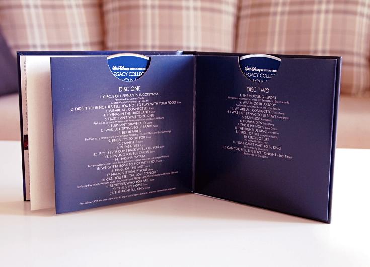 Legacy Collection soundtrack Leijonakuningas