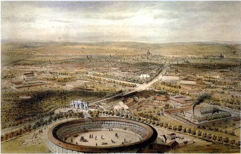 16l04 Alfred Guesdon Madrid_(1854)-_Vista_aérea Uti 485