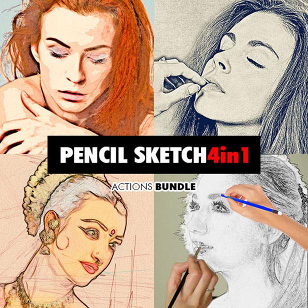 Ink Spray Photoshop Action V.1 - 130