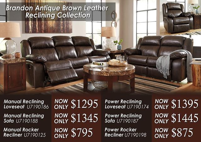 Brandon Antique Brown Collection U71901-87-86-T687